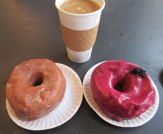 Horchata and Hibiscus donuts!