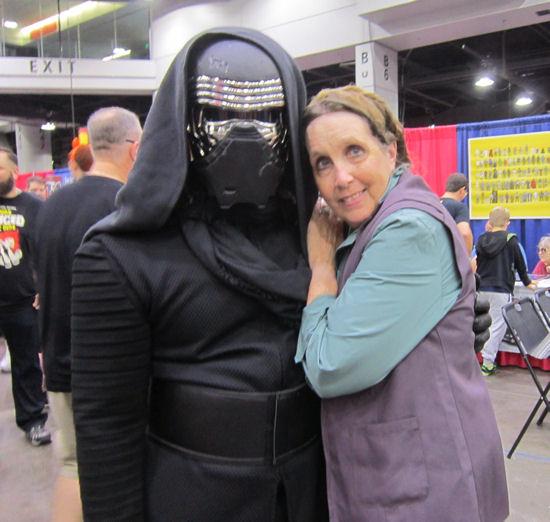 Leia and Kylo Ren!