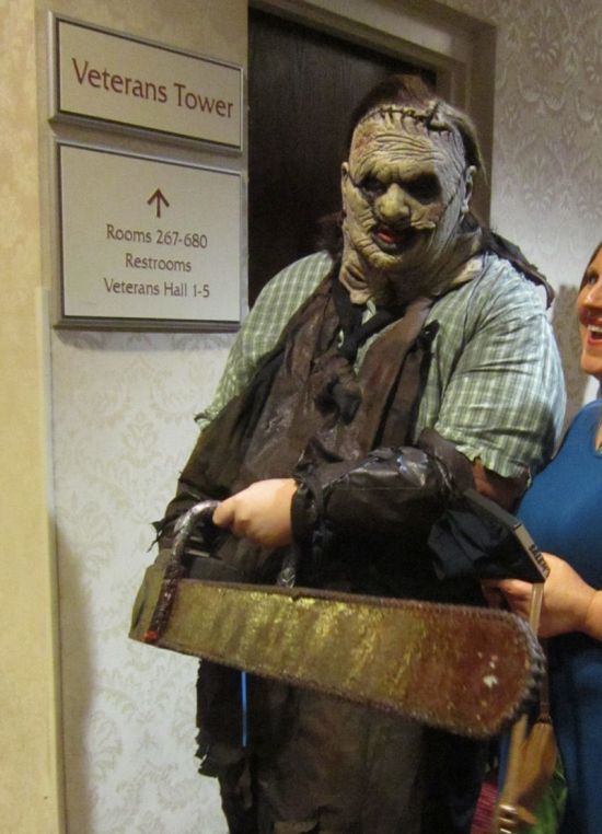 Leatherface!