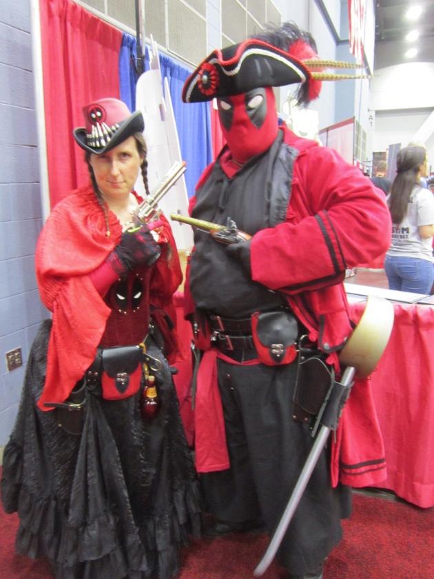 Piratepool and Lady Piratepool!