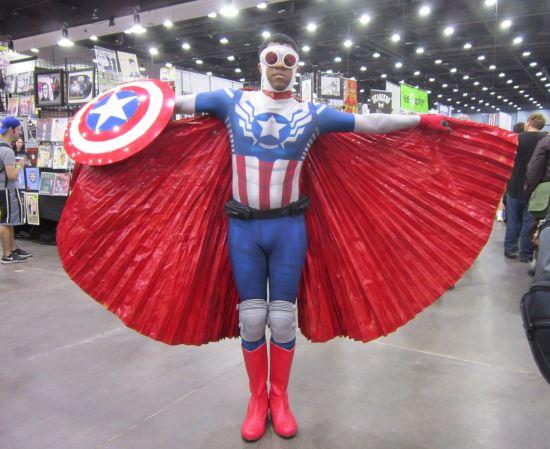 Sam Wilson, Captain America!