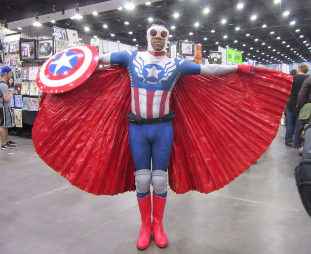 Sam Wilson, Captain America!