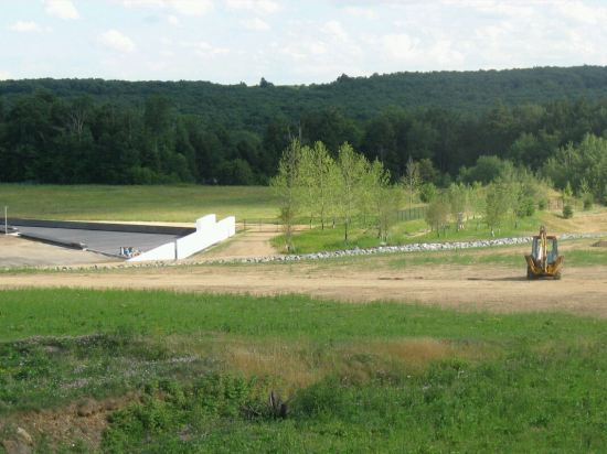 Flight 93 Memorial Construction.