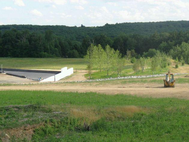 Flight 93 Memorial Construction.