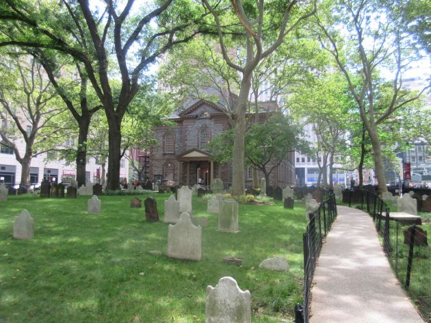 St Paul's Cemetery!