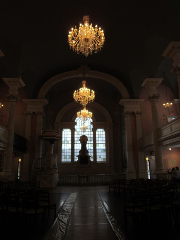 St. Paul's Chapel!
