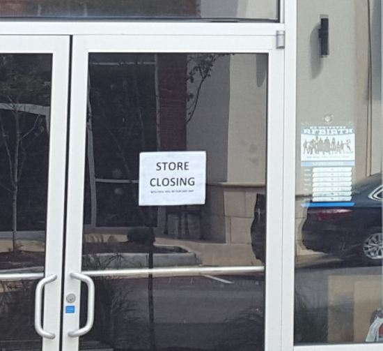 Store Closing.