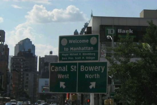 Welcome to Manhattan!