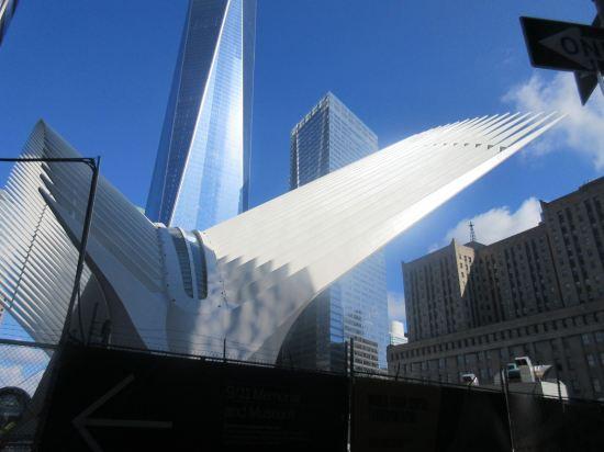 WTC Transportation Hub.