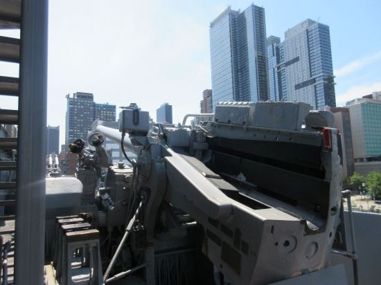 anti-aircraft gun!
