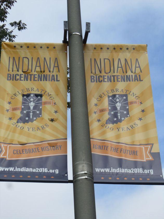 Bicentennial banners!
