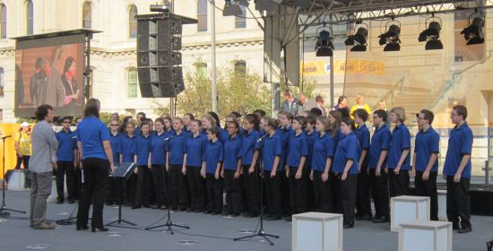 children's choir!