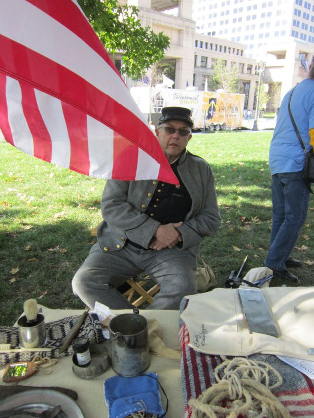 Civil War, Volunteer Indiana Regiment!