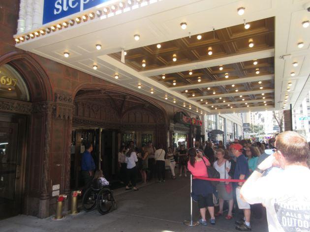 Ed Sullivan Theater!