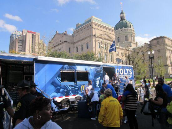 Colts trailer!