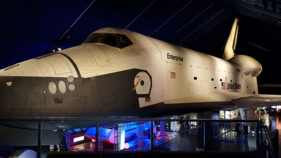 Space Shuttle Enterprise!