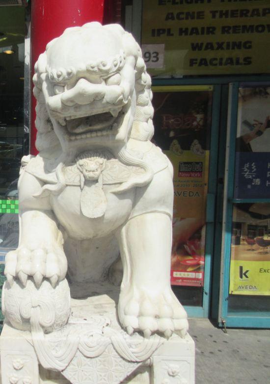 Facial Lion!