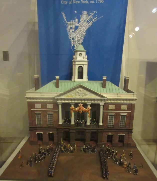 Federal Hall Diorama!