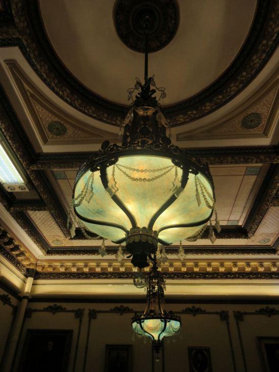 Gubernatorial lighting!