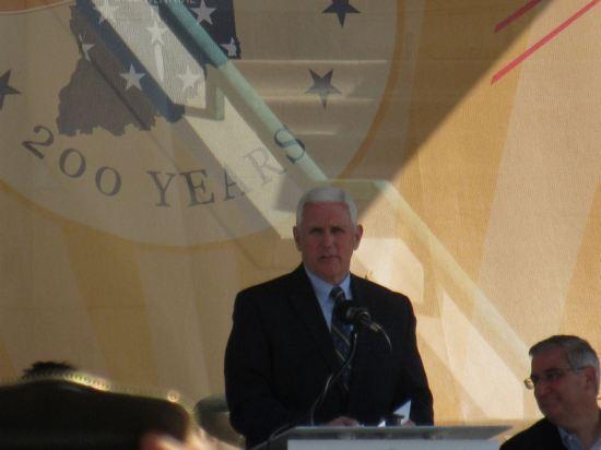Governor Mike Pence!
