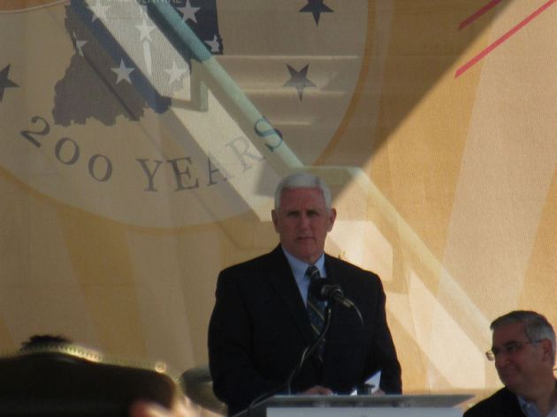 Governor Mike Pence!