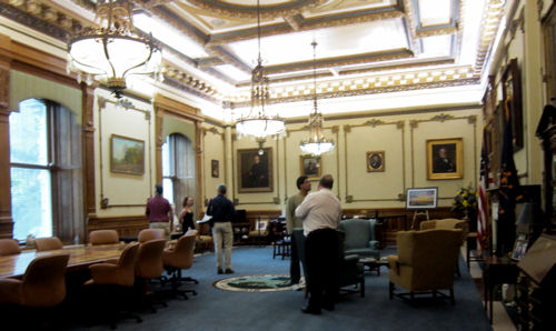 Indiana governor's office!