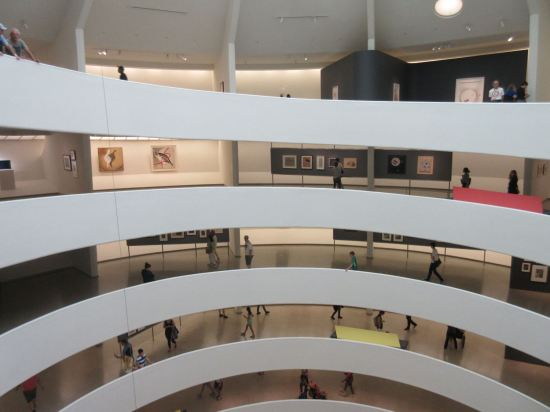 Guggenheim floors!