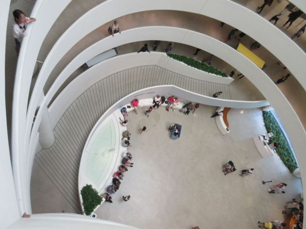 Guggenheim from above!