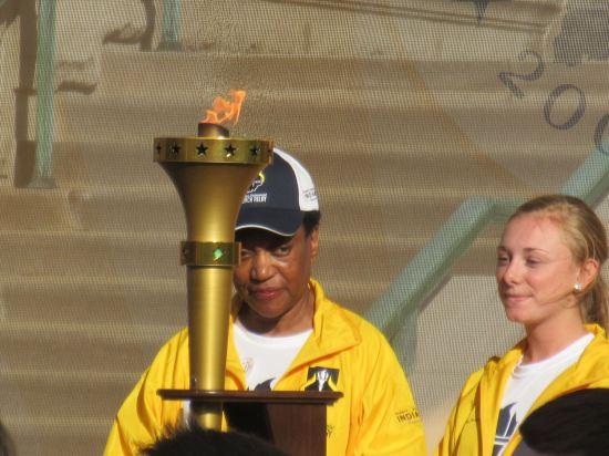 Indiana Bicentennial torch!