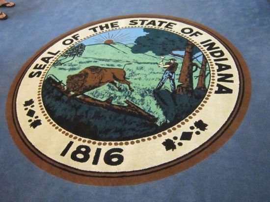 Indiana carpet seal!