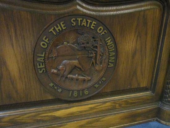Indiana desk seal!