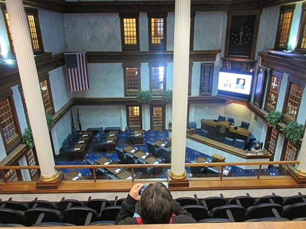 Indiana Senate Chambers!