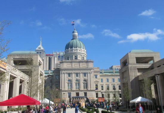 Indiana State House West!