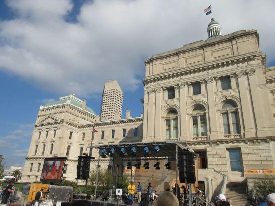 Indiana Bicentennial main stage!