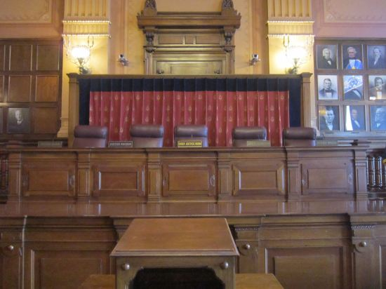 Indiana Supreme Court chambers!