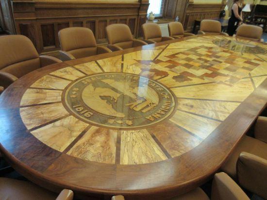 Governor's Boardroom table!