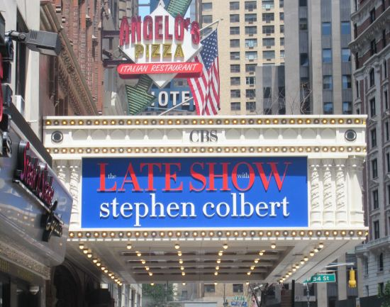 Late Show Marquee!