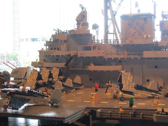 Lego flight deck!