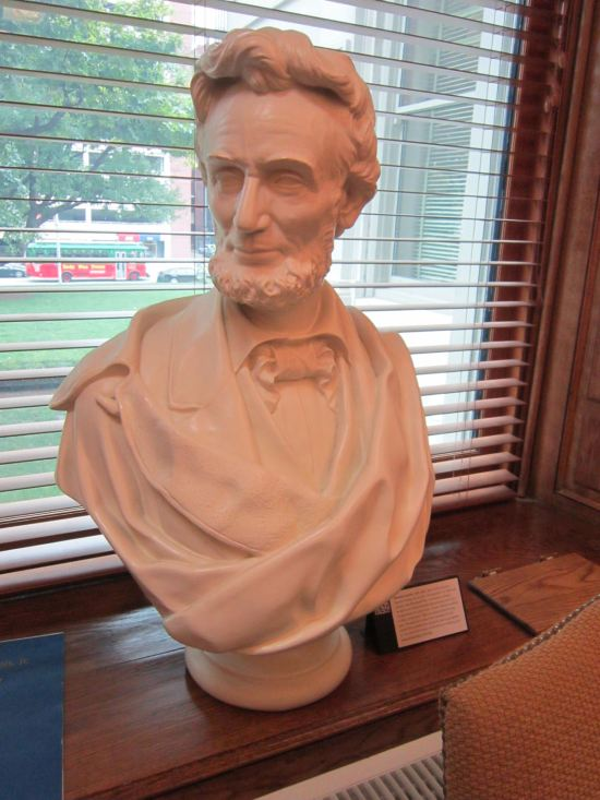 Lincoln bust!