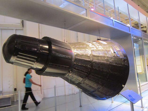 Mercury capsule REPLICA.
