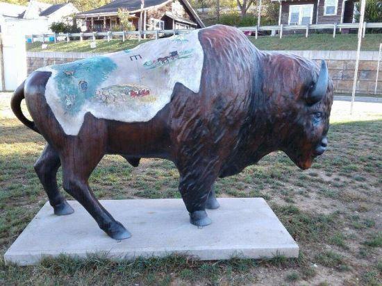Orange County bison!