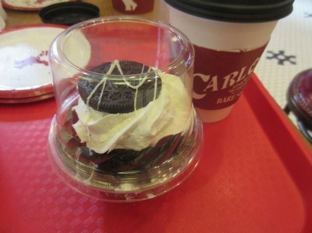 Oreo cupcake!