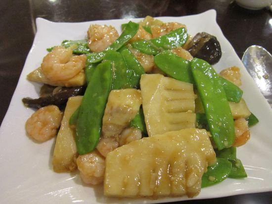 shrimp and vegetables!