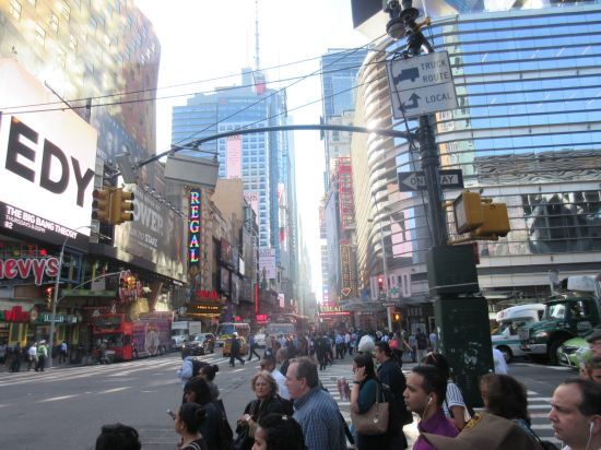 Times Square morning!