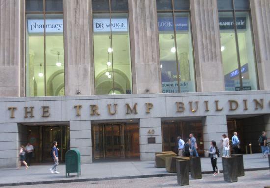 Trump Building. UGH.