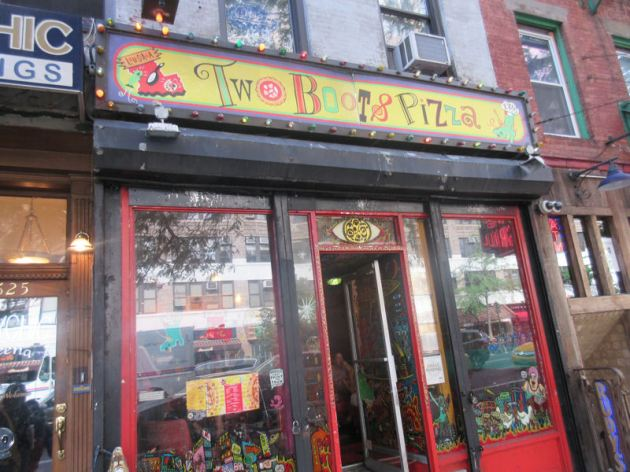 Two Boots Pizza Restaurant New York
