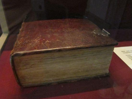 Washington Bible!