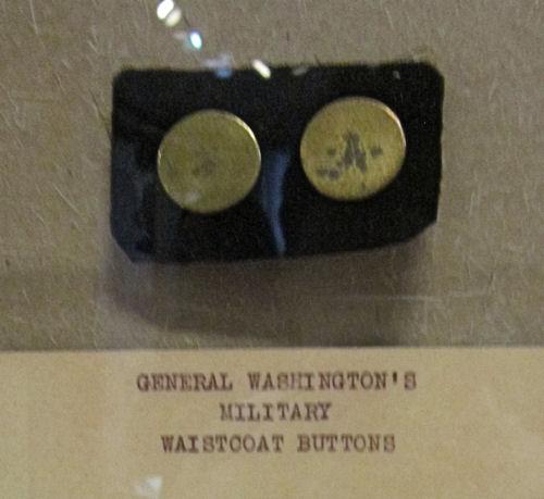 Washington's waistcoat buttons!