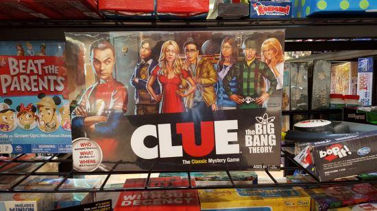 Big Bang Theory Clue.