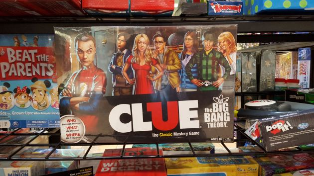 Big Bang Theory Clue.